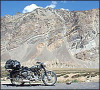 Enfield in Ladakh